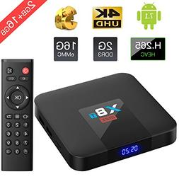 TICTID  X8T MAX Android 7.1 TV Box Quad core ARM Cortex-A53