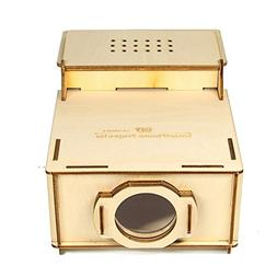 DIY Wooden projection box Home Decor Cardboard Projector Cin