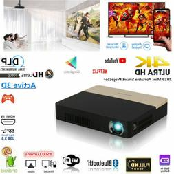 DLP 8500 lumens 4K TV Home Theater Projector 3D Wifi HD 1080