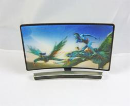 Dollhouse Miniature 1:12 Scale Curved Screen 3D TV with Fant