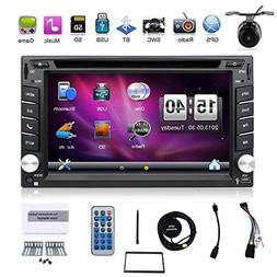 6.2-inch Double DIN Gps Navigation for Universal Car Free Ba