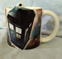 "Dr. Who ""Tardis"" 3D 20oz CeramicCoffee Mug  Cup Tea Sci Fi B"