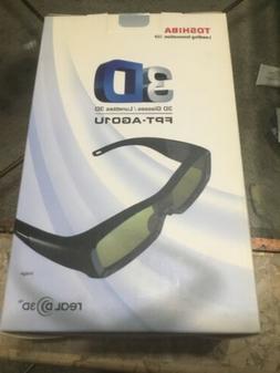 Toshiba FPT-AG01U 3D Glasses, Black