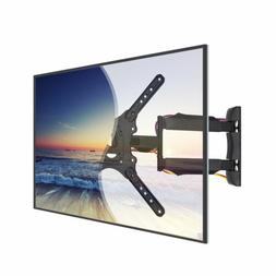 Full Motion TV Wall Mount Corner Articulatig Arm VESA Bracke