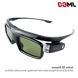 Active 3D Glasses DLP-Link Liquid Crystal Shutter Rechargeab