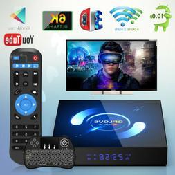 QPLOVE H616 Android 10 Smart Tv Box Quad Core 4GB 128GB Wifi