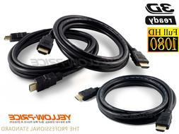 HD HDMI Cable Cord 10FT 1080P 720P For BLURAY 3D HDTV XBOX P