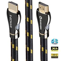 4K HDMI Cable/HDMI Cord 6ft - Ultra HD 4K Ready HDMI 2.0  -