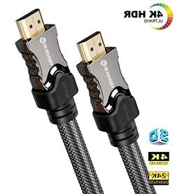 4K HDMI Cable/HDMI Cord 33ft - Ultra HD 4K Ready HDMI 2.0  -