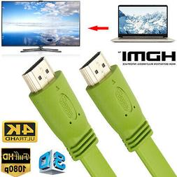 HDMI Cable Ultra HD 1080P 4K 3D HDTV TV Ethernet Audio Video