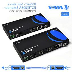 OREI HDMI Extender Over Ethernet CAT5e/CAT6 Power Over Cable