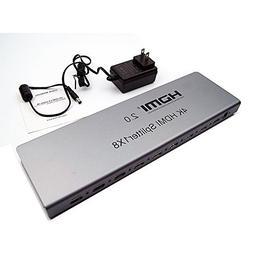 YINGLUN 3D HDMI Splitter V2.0 1 In 8 Out Full Ultra HD 4K/2K