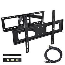 Happyjoy Heavy Duty Dual Articulating Arm TV Wall Mount Brac
