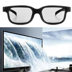 high quality polarized passive 3d glasses black