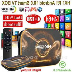 HK1 R1 4+128G 4+32G Android10.0 Quad Core TV BOX HDR10 RK331