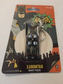Key Chain - DC Comics - Batman Batmobile Classic TV 3 Rubber