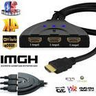 0E82 86C53x13Port1080P HD TV 3D Compact Auto HDMI Switch Hub