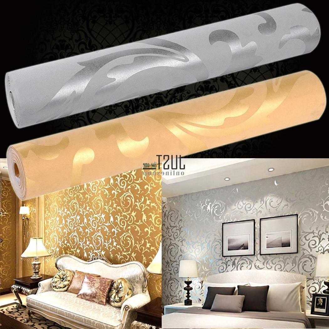 10M Wallpaper Curve Wall Decoration