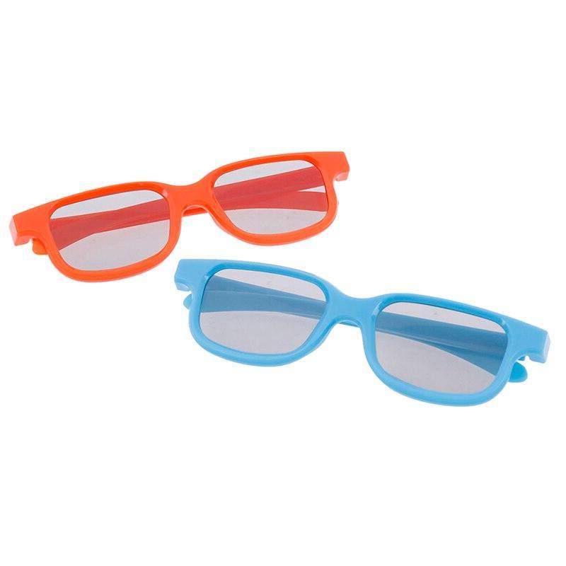 1pc Size Circular <font><b>3D</b></font> Glasses D <font><b>3D</b></font> Movie
