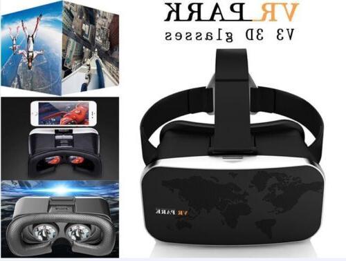 2017 Virtual Reality VR Box Park V3 3D Phone TV Video Glasse