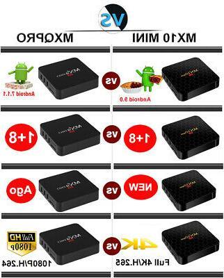 2019 MINI Android TV BOX HDMI 64Bit 3D Media