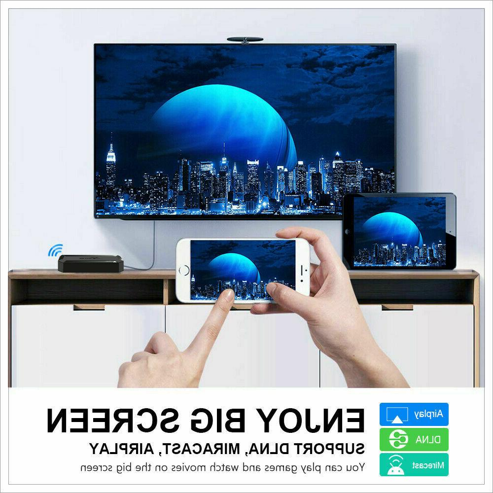2020 4K 10.0 BOX 2.4G HDMI 3D Media