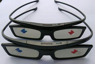 2 X SAMSUNG 3D Active Shutter Glasses SSG-5100GB 2011 12 13