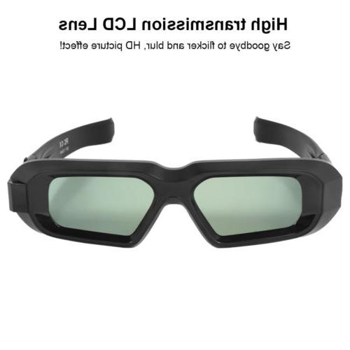 Active Shutter 3D Glasses for HD