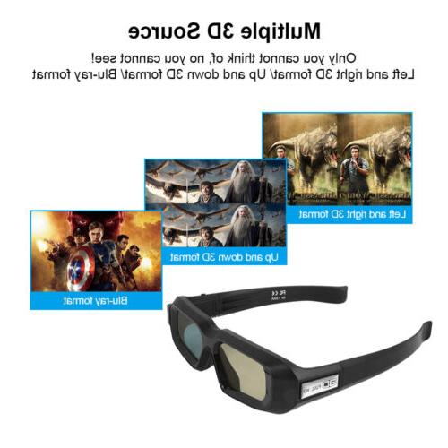 Active Shutter Glasses for HD