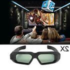 2x RF 3D Glasses Active Bluetooth for Epson Projector And Sh