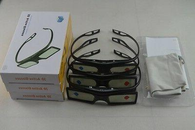 3 X RF3D Active Glasses Substitute UK 2015 Sony 3D TV and TD