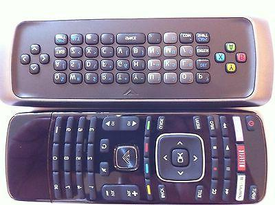 New VIZIO 3D TV keyboard XRT303 Remote for M3D470KDE M3D470K