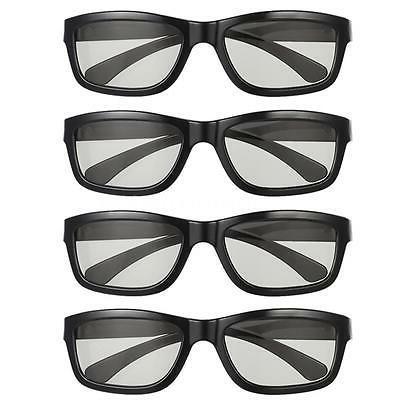 4 Pack 3D Glasses Adult Children Home Cinema Passive For LG/