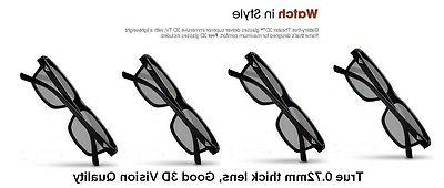 4 Pairs New Theater 3D Glass XPG202 XPG203 +2 Free clean Clo