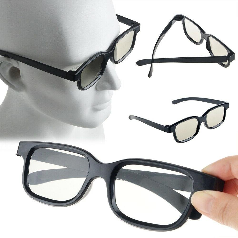 4 pairs passive 3d glasses with polarized