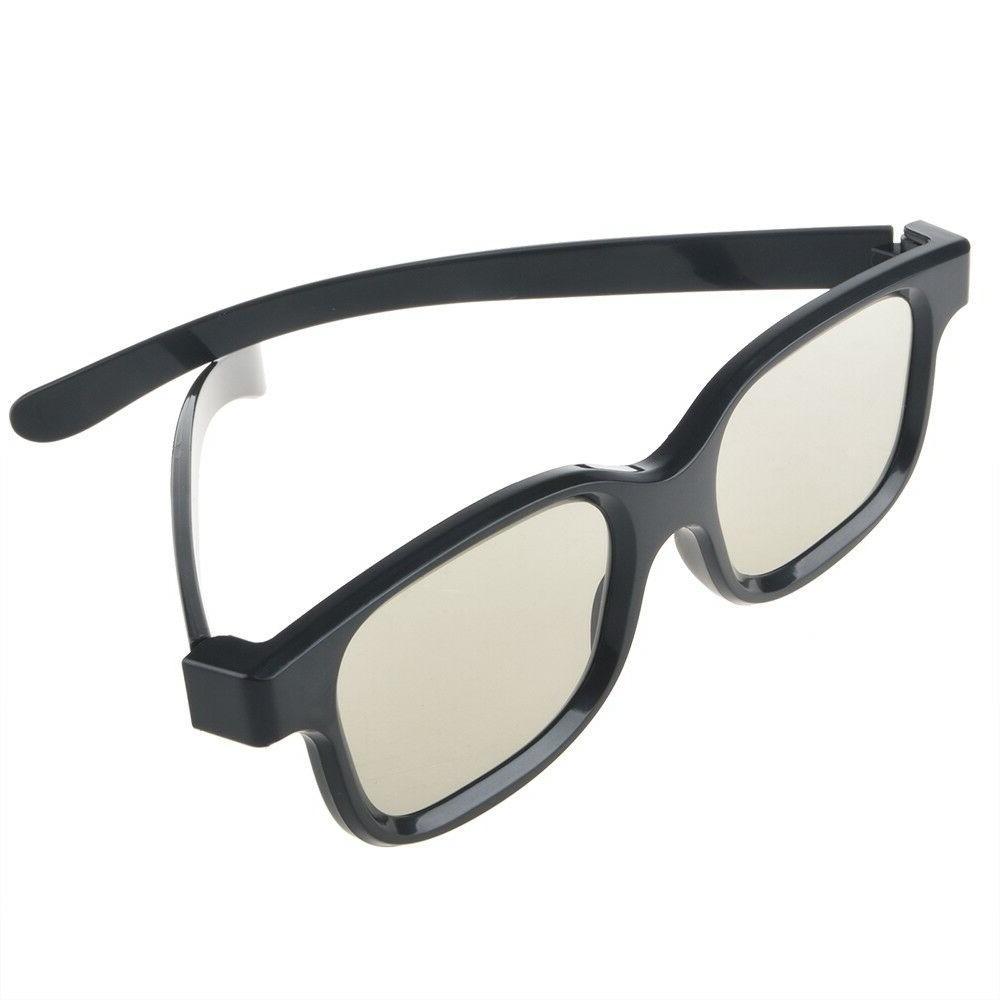 4 Pairs Passive 3D Glasses Polarized Lenses for TV AG-F310