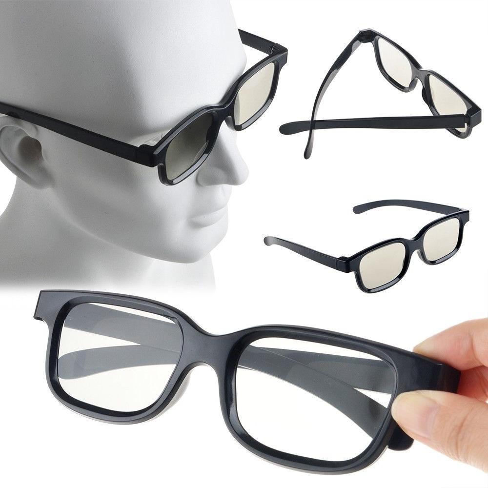 4 Pairs Passive Glasses Lenses for TV =