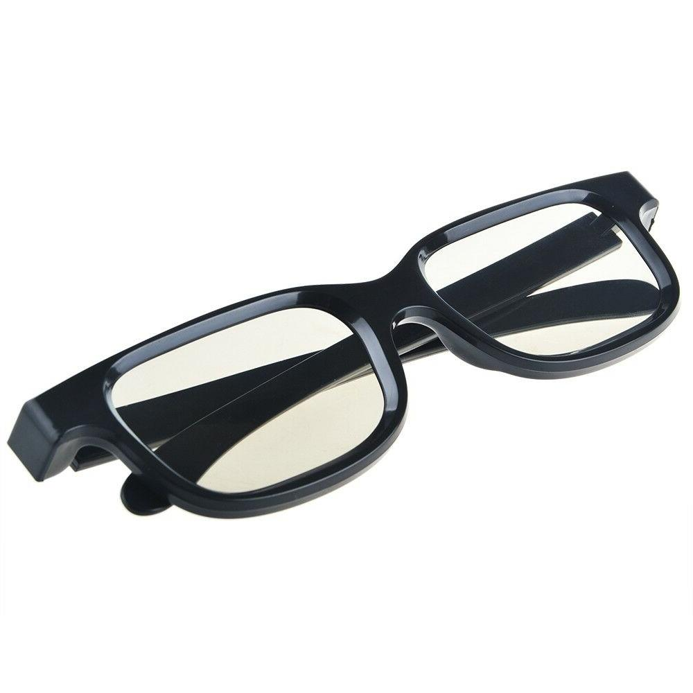 4 Pairs Passive 3D Glasses with Plastic Lenses for 3D TV = AG-F310