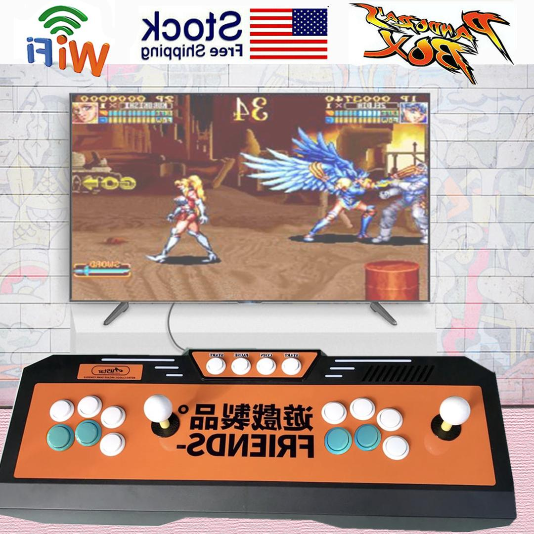 4018 Box Key Video Games Arcade TV with WIFI