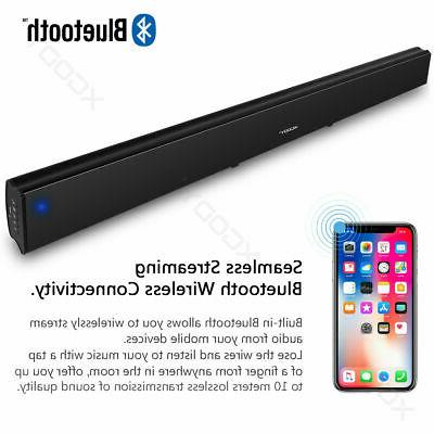 40W System TV Home Wireless Soundbar Subwoofer US