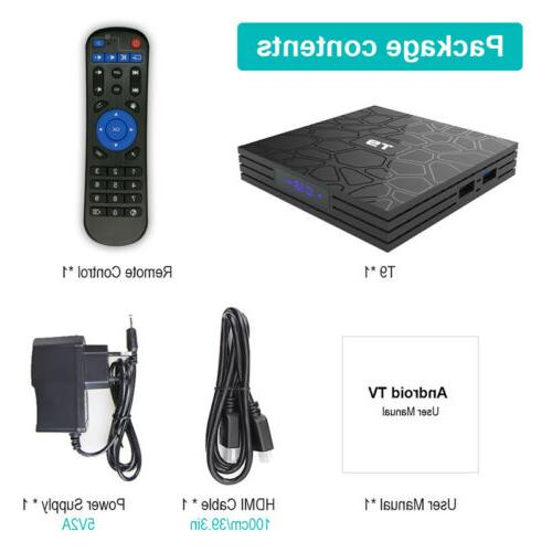 4K Android Smart TV Core USB3.0 Media Player 3D