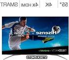 Hisense 55' Class 4K Ultra HD Android ULED LCD TV Model # 55