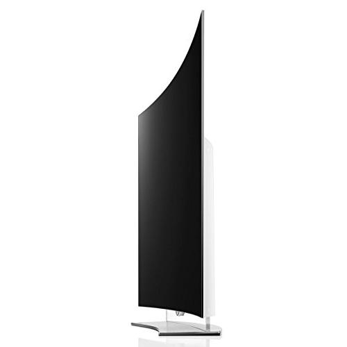 LG Full HD Curved OLED 3D Screen Cleaning Cloth, and USB