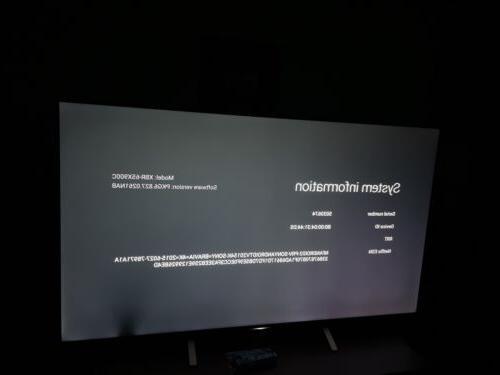 Sony XBR-65X900C 3D 4K HDR