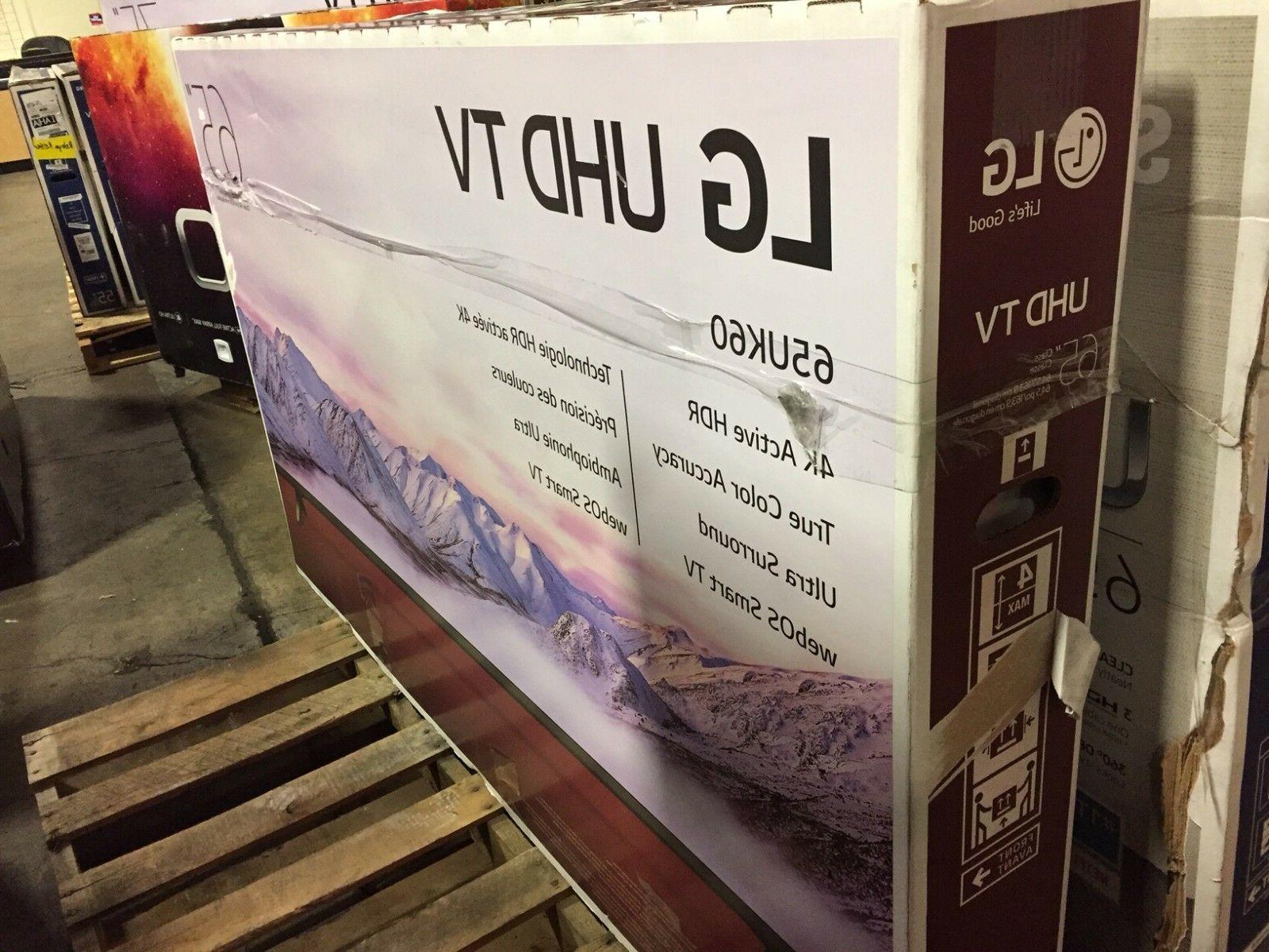 LG 65UK6090PUA 4K UHD HDR TV -