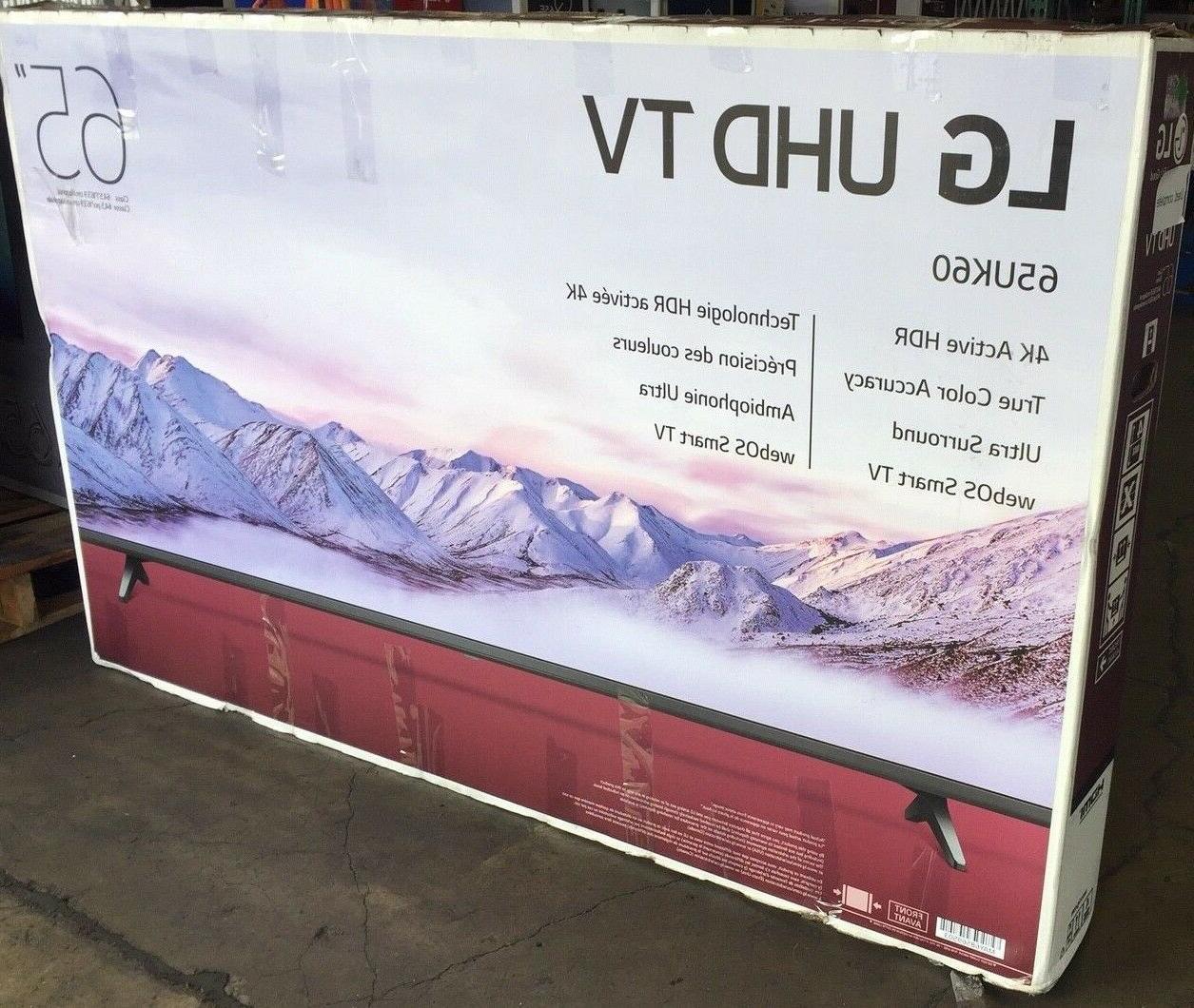 LG 65UK6090PUA LCD webOS TV -