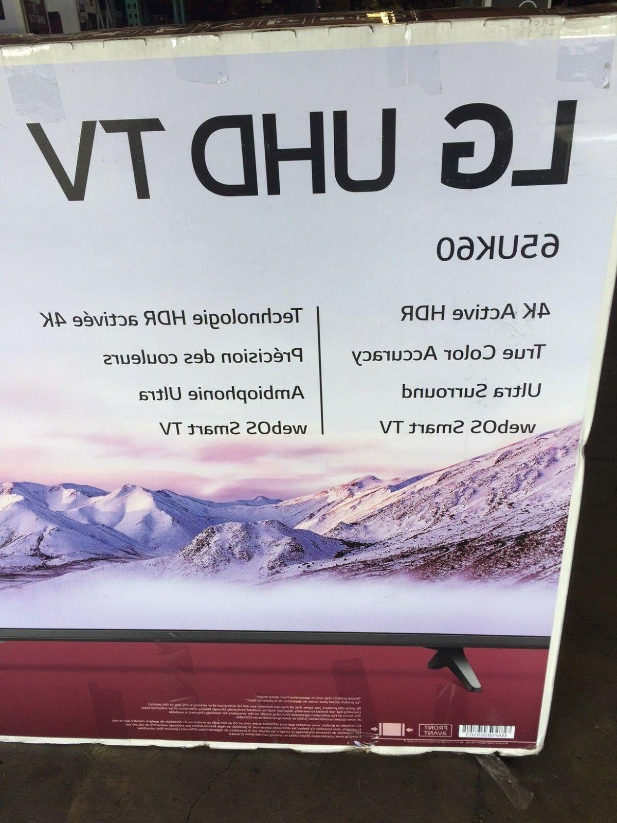 LG 65UK6090PUA inch 4K HDR LCD TV NEW