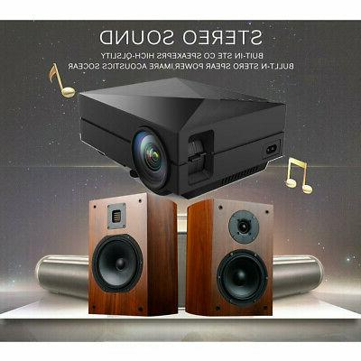 5000 Lumen 1080P Theater Projector