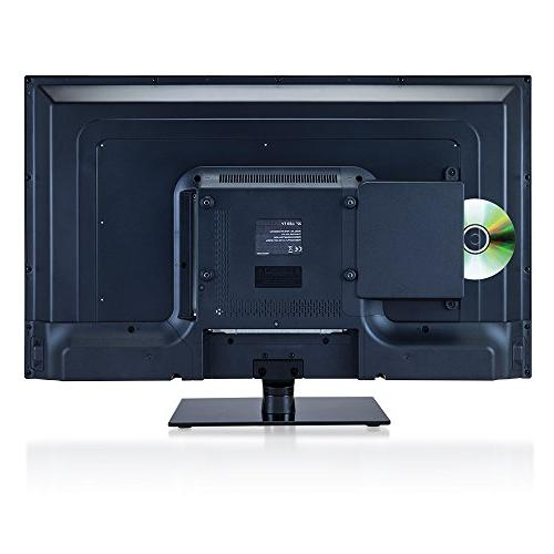 AXESS 32-Inch HDTV, VGA/HDMI/SD/USB Inputs, Built-In Function