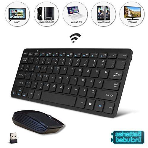 black wireless mini ultra slim keyboard and mouse. Black Bedroom Furniture Sets. Home Design Ideas